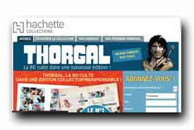screenshot de www.collection-thorgal.com