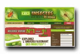 screenshot de www.collection-insectes.fr