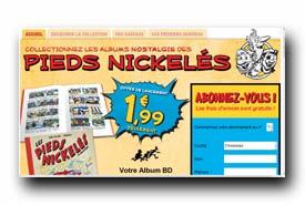 screenshot de www.collection-piedsnickeles.com