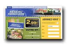 screenshot de www.collection-reseauferroviaire.com