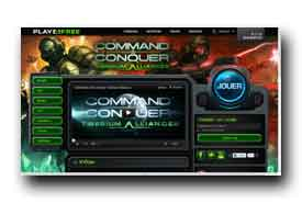 screenshot de alliances.commandandconquer.com