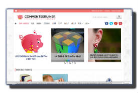screenshot de www.commentseruiner.com
