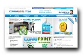 screenshot de www.comoprint.com