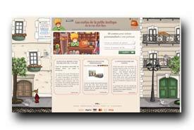 screenshot de www.lescontesdelapetiteboutique.com