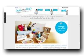 screenshot de www.coocoonoo.com