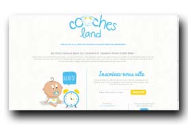 screenshot de www.couches-land.fr