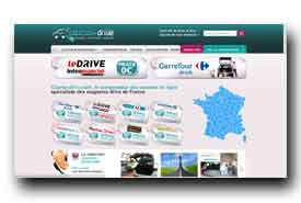 screenshot de www.courses-drive.com