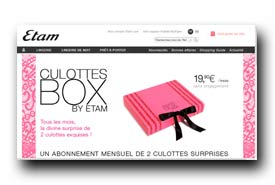 screenshot de www.etam.com/culotte-box-by-etam.html