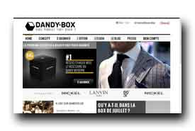 screenshot de www.dandybox.com