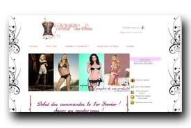 screenshot de www.delitdessens.com