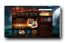 screenshot de www.diablo3.com