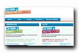 screenshot de www.dimanche-annonces.com