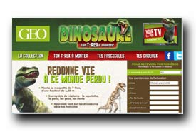 screenshot de www.dinosaure-a-monter.fr