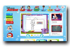screenshot de www.disneyjunior.fr