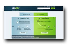 screenshot de www.dowup.fr