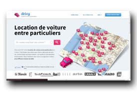 screenshot de www.drivy.com