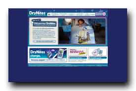screenshot de www.drynites.fr