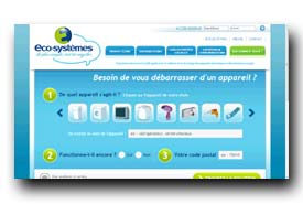 screenshot de www.eco-systemes.fr