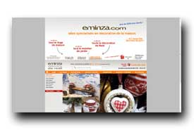 screenshot de www.eminza.com