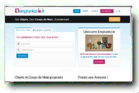 screenshot de www.empruntez-le.fr