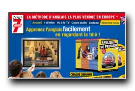 screenshot de www.englishnoproblem.fr