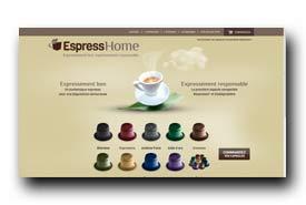 screenshot de www.espresshome.com