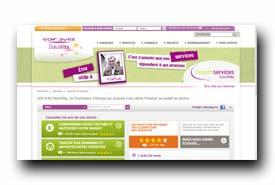 screenshot de www.dolcevita-espritservices.fr