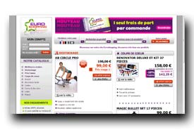 screenshot de www.euroshopping.fr