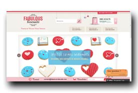 screenshot de www.fabulous-biscuits.com