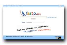 screenshot de www.fasto.com