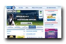 screenshot de www.fdj.fr