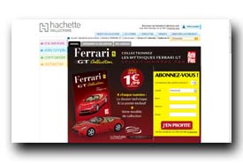 screenshot de www.hachette-collections.com/automobiles-miniatures/ferrari-gt-collection/votre-numero-1/