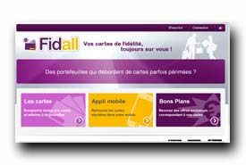 screenshot de www.fidall.fr