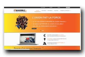 screenshot de www.finansemble.fr
