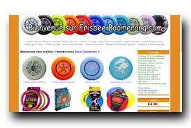 screenshot de www.frisbeeboomerang.com