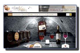 screenshot de www.foireauxvins-lidl.fr