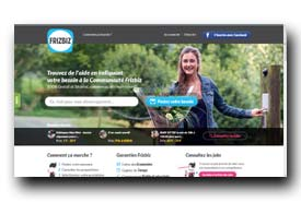 screenshot de www.frizbiz.com
