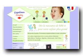 screenshot de www.gagademondoudou.com