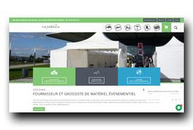 screenshot de www.ged-event.com