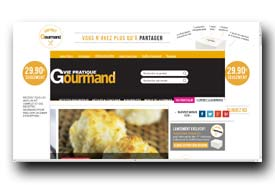 screenshot de gourmand.viepratique.fr