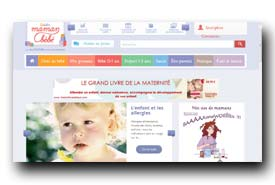screenshot de www.guide-maman-bebe.com