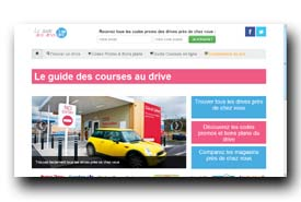 screenshot de www.guide-drives.fr