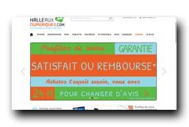 screenshot de www.halleauxnumeriques.com