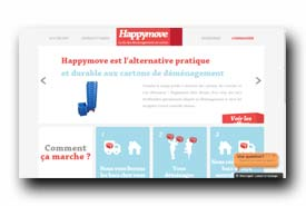 screenshot de www.happymove.fr