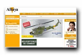screenshot de www.altaya.fr/coleccionable/helicopteres-de-combat.html