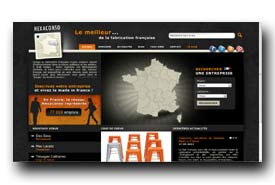 screenshot de www.hexaconso.fr