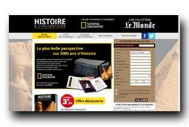 screenshot de www.histoire-et-civilisations.fr