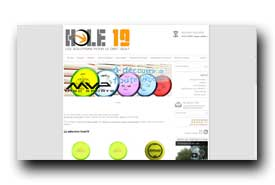 screenshot de www.hole19.fr