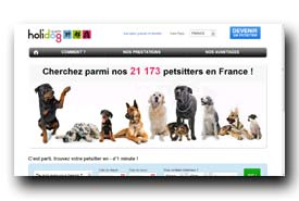 screenshot de fr.holidog.com