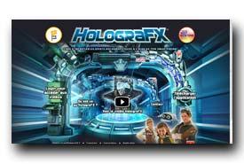 screenshot de www.holografxgame.com/fr/